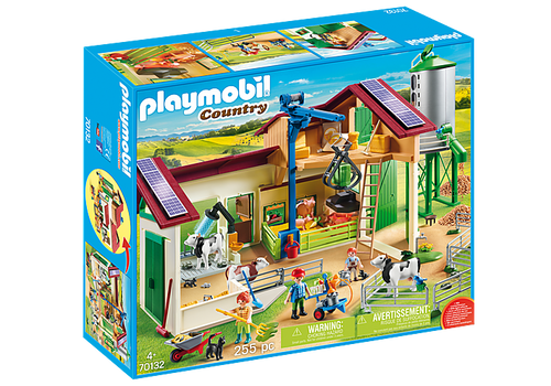 Playmobil Farm with Animals (70132)