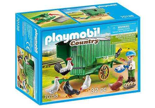 Playmobil Chicken Coop (70138)