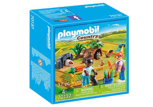 Playmobil Farm Animal Enclosure (70137)