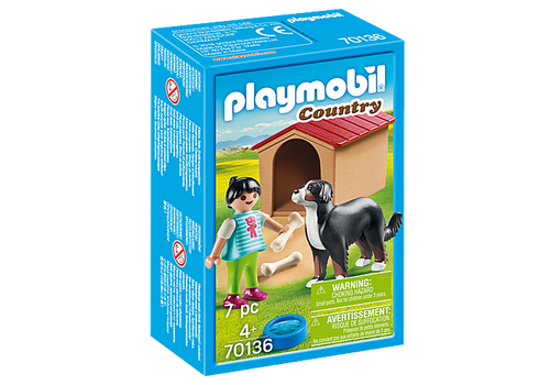 Playmobil Dog with Doghouse (70136)