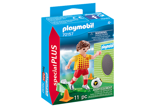 Playmobil Soccer Player with Goal (70157)