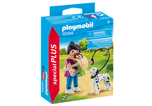 Playmobil Special Plus Mother with Baby and Dog (70154)