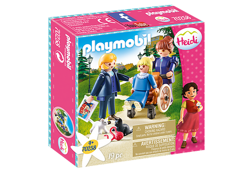 Playmobil Heidi Clara, Father and Miss Rottenmeier (70258)