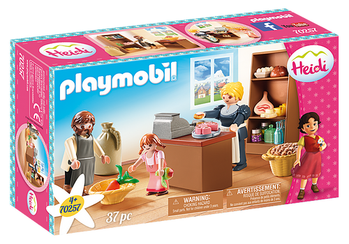 Playmobil Heidi Keller's Village Shop (70257)