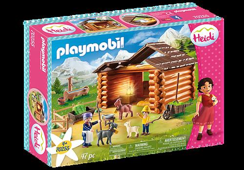 Playmobil Heidi Peter's Goat Stable (70255)