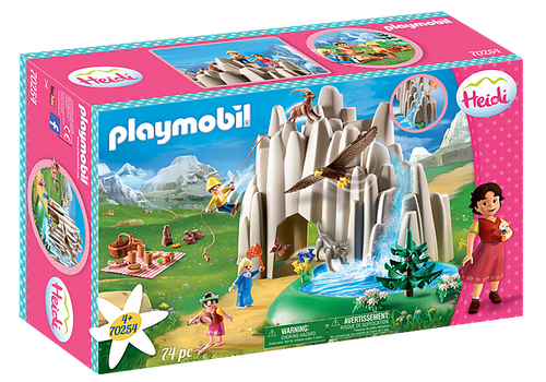 Playmobil Heidi Crystal Lake (70254)