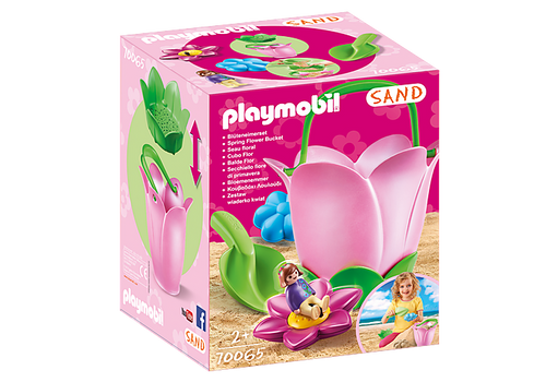 Playmobil Sand Spring Flower Bucket (70065)