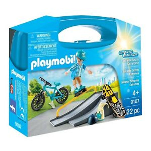 Playmobil Extreme Sports Carry Case (9107)
