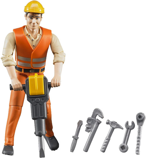 Bruder Construction Worker with Accessories (60020)