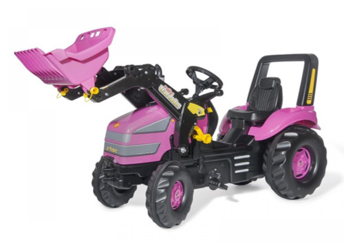 Rolly Pink Xtrac Tractor with Loader (04955)