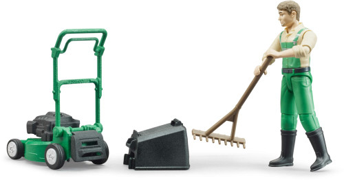 Bruder bWorld Gardener with Mower and Accessories (62103)