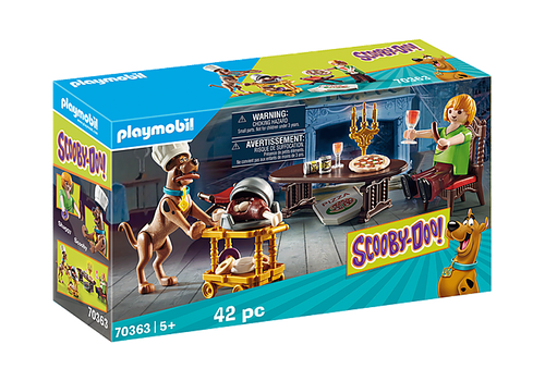Playmobil SCOOBY-DO! Dinner with Shaggy (70363)