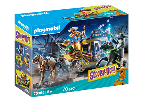 Playmobil SCOOBY-DOO! Adventure in the Wild West (70364)