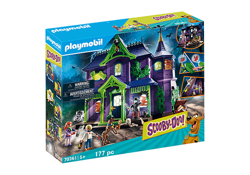 Playmobil SCOOBY-DO! Adventure in the Mystery Mansion (70361)