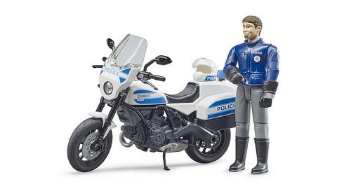 Bruder bWorld Polive Motorbike & Policeman (62731)