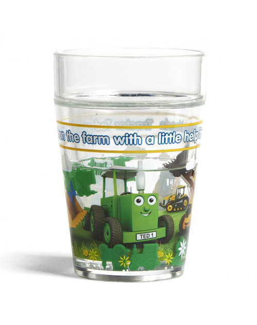 Tractor Ted Glitter Beaker - Digger