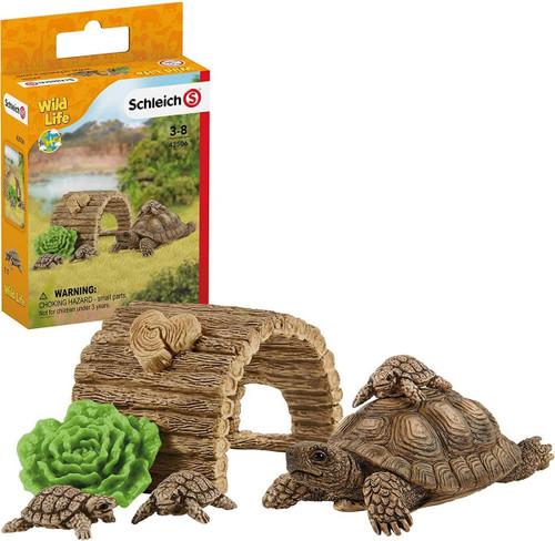 Schleich Wild Life Tortoise Home (42506)