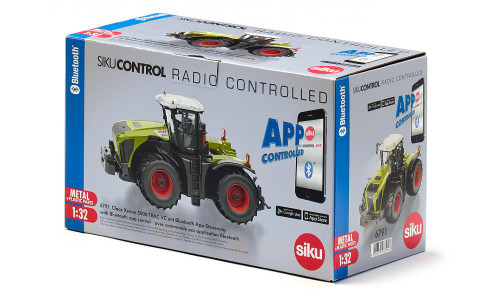 Siku Claas Xerion 5000 TRAC VC with Bluetooth app control (6791)
