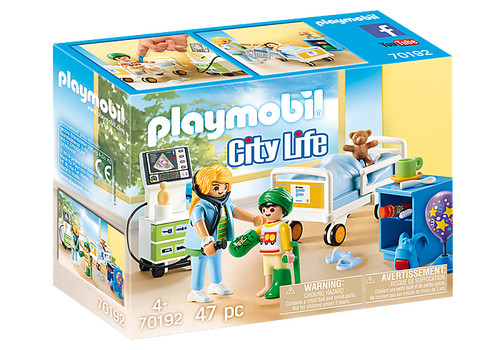 Playmobil Children's Hospital Room (70192)