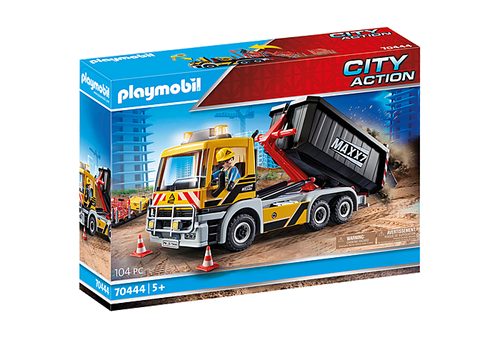Playmobil Construction Interchangeable Truck (70444)