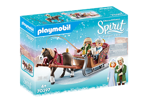 Playmobil Spirit Winter Sleigh Ride (70397)