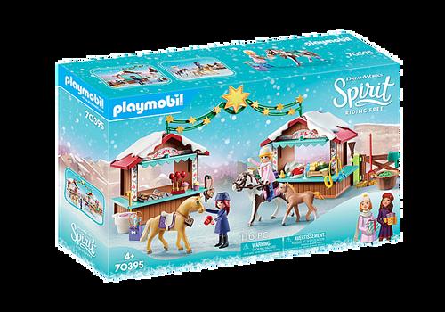 Playmobil Spirit A Miradero Christmas (70395)