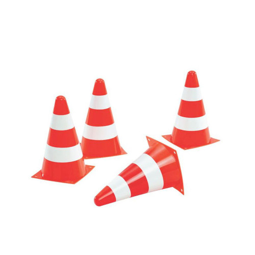 Rolly Set of 4 Traffic Cones (40949)