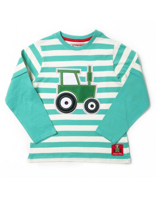 Tractor Ted Long Sleeve T-Shirt Teal