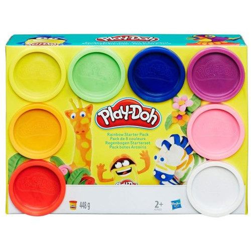 Play-Doh 8 Pack Assorted Colours (5504)