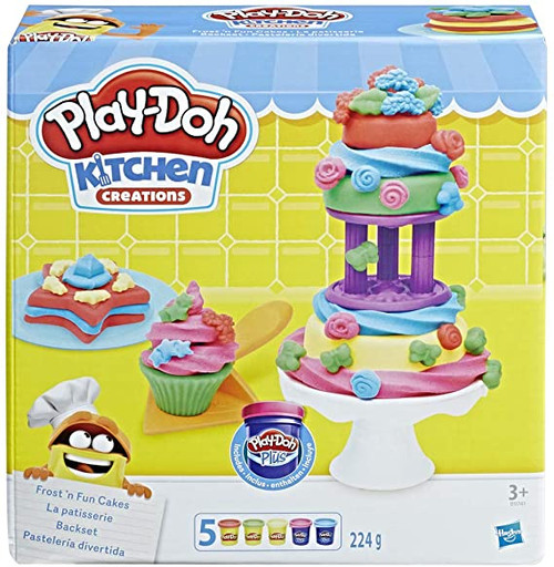 Play-Doh Kitchen Creations Frost n Fun Cakes (29741)