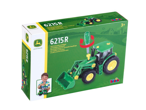 Theo Klein John Deere 6215R Tractor with Front Loader (3903)