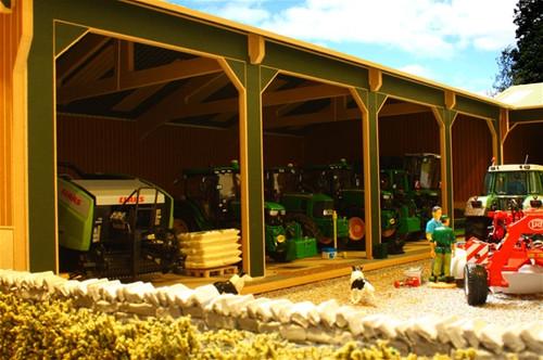 Open Barn with 4 Bays - Big Brushwood Basics (BBB160)