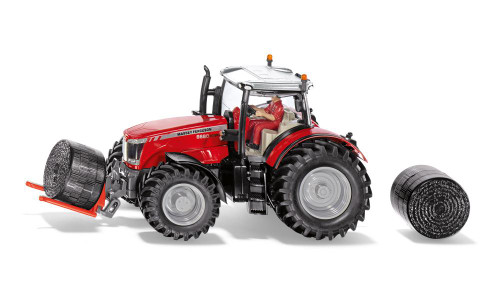 Siku Massey Ferguson MF8680 Tractor with Bale Handler (8614)