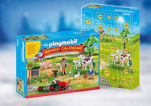 Playmobil Advent Calendar - Farm (70189)