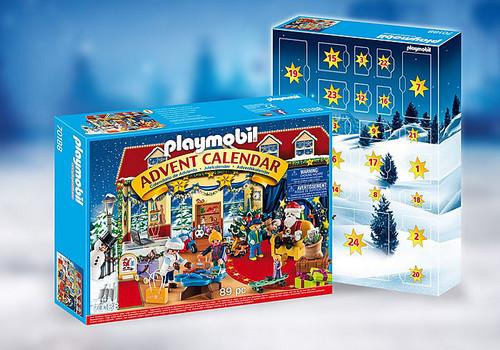 Playmobil Advent Calendar - Christmas Toy Store (70188)