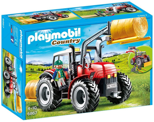 Playmobil Country Large Tractor with Bale Handler (6867)