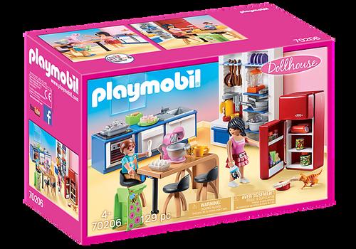 Playmobil Dollhouse Family Kitchen (70206)