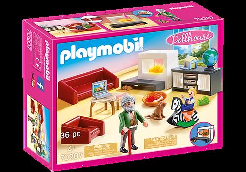Playmobil Dollhouse Comfortable Living Room (70207)