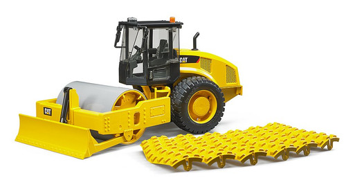 Bruder CAT Vibratory Soil Compactor with Levelling Plate (2450)