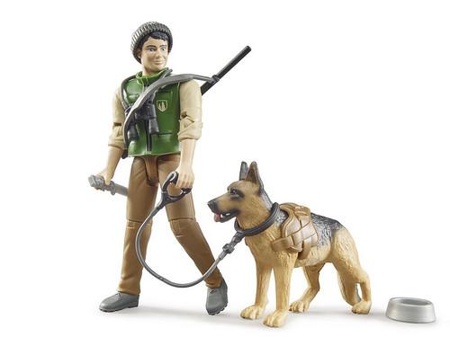 Bruder bWorld Forester with Dog & Equipment (62660)