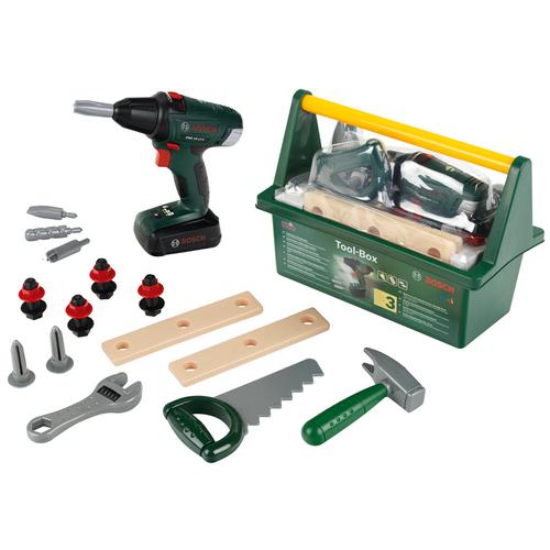 Theo Klein BOSCH Tool Box & Cordless Drill/Screwdriver (8520)