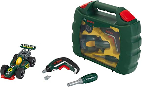 Theo Klein BOSCH Grand Prix Tool Box Set with Cordless Screwdriver (8395)