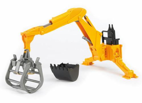 Bruder Rear Hydraulic Arm with Grab (02338)