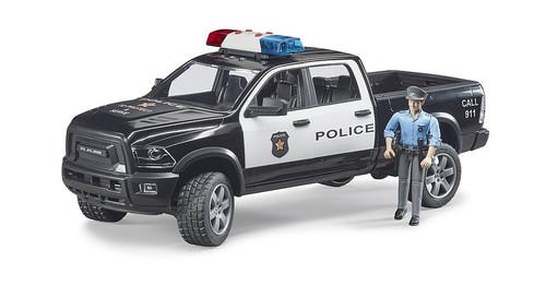 Bruder RAM 2500 Police Pickup with Policeman (02505)