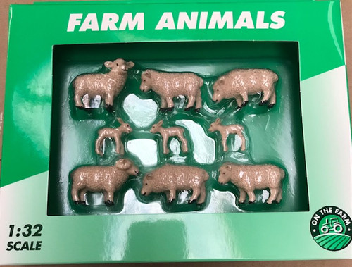 Sheep & Lamb Set - 9 animals (K38/5566)