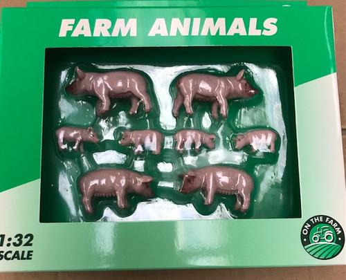 Pigs & Piglets Set - 8 animals (K38/5570)