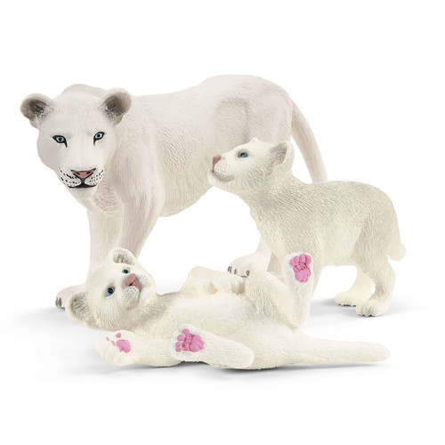 Schleich Lion Mother with Cubs (42505)