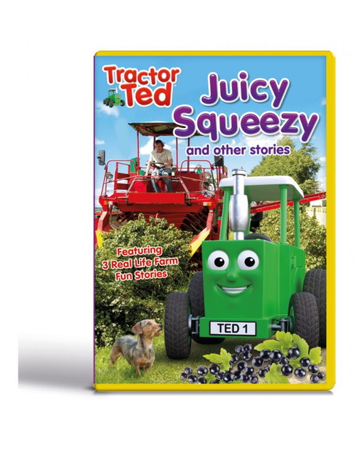 Tractor Ted Juicy Squeezy and other stories DVD