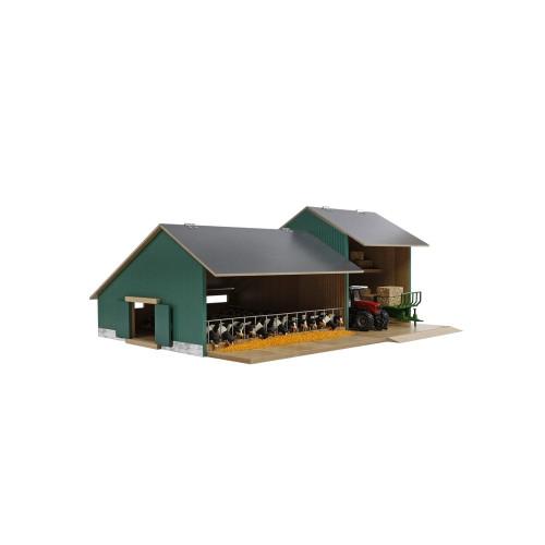 Kids Globe Cattle & Machinery Shed (0200)