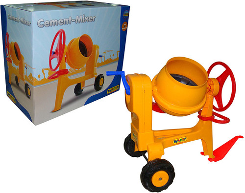 Wader Cement Mixer with Hitch (43757)